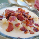 Bacon Cauliflower Cheddar Soup