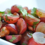 Hazelnut Grape Salad with Cilantro